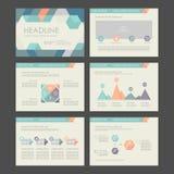 Elementi del infographics Fotografia Stock