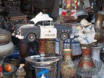 Elementi del mercato delle pulci, Plaka, Atene, Grecia Fotografia Stock Libera da Diritti
