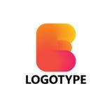 Elementi del modello di progettazione dell'icona di logo della lettera E Fotografie Stock