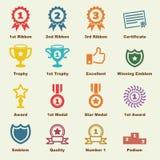 Elementi del premio Immagini Stock Libere da Diritti