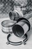 Elementi del sistema di ventilazione Fotografie Stock Libere da Diritti