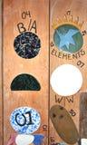 Elementi del vasaio degli S.U.A. dello stato di Bennington Vermont Fotografia Stock Libera da Diritti