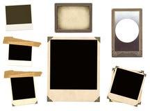 Elementi dell'accumulazione per scrapbooking Fotografia Stock Libera da Diritti
