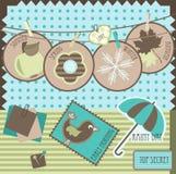 Elementi dell'album illustrazione di stock