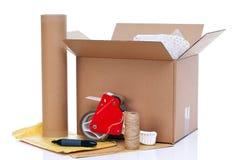 Elementi dell'imballaggio Fotografia Stock Libera da Diritti