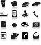 Elementi dell'ufficio Fotografia Stock Libera da Diritti