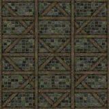 Elementi della costruzione del chalet della struttura di legno Immagini Stock Libere da Diritti