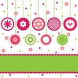 Elementi della decorazione. Fotografie Stock