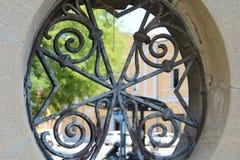 Elementi della decorazione architettonica della citt? fotografie stock libere da diritti