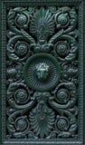 Elementi della decorazione con la testa del leone Fotografie Stock