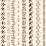 Elementi della decorazione del confine illustrazione vettoriale