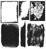 Elementi della priorità bassa di Grunge Fotografie Stock Libere da Diritti