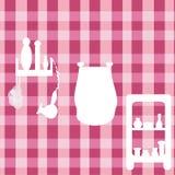 Elementi della stanza da bagno royalty illustrazione gratis
