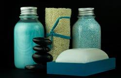 Elementi della stazione termale Fotografia Stock