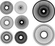 Elementi dello Spirograph Fotografia Stock Libera da Diritti