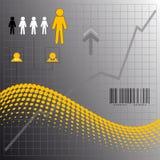 Elementi di affari illustrazione di stock