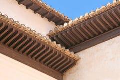 Elementi di architettura di un palazzo mauriziano Immagine Stock