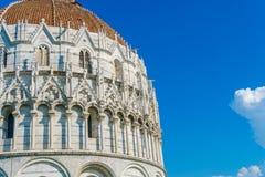 Elementi di architettura di monumento storico a Pisa Immagine Stock