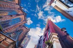 Elementi di architettura olandese autentica Fotografie Stock