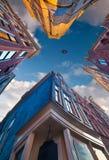 Elementi di architettura olandese autentica Fotografie Stock Libere da Diritti