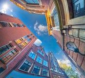 Elementi di architettura olandese autentica Fotografia Stock