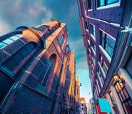 Elementi di architettura olandese autentica Immagine Stock Libera da Diritti
