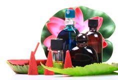Elementi di Aromatherapy Fotografia Stock Libera da Diritti