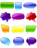 Elementi di chiacchierata Fotografia Stock