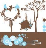 Elementi di disegno Immagine Stock Libera da Diritti