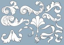 Elementi di disegno Immagine Stock