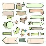Elementi di disegno Fotografia Stock