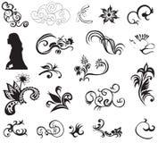 Elementi di disegno Immagini Stock