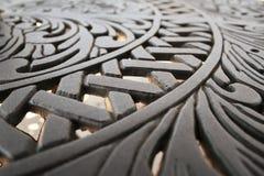 Elementi di disegno del metallo Fotografie Stock Libere da Diritti