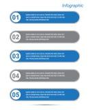 Elementi di disegno dell'insegna di Infographic Fotografia Stock Libera da Diritti