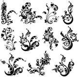 Elementi di disegno della pianta royalty illustrazione gratis
