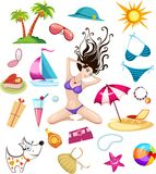 Elementi di disegno di corsa royalty illustrazione gratis