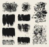 Elementi di disegno di Grunge Fotografie Stock