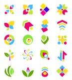 Elementi di disegno di marchio Fotografia Stock Libera da Diritti