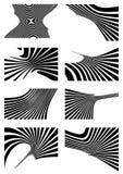 Elementi di disegno di vettore Fotografia Stock