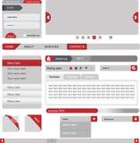 Elementi di disegno di Web illustrazione vettoriale