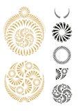 Elementi di disegno grafico Immagini Stock