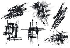 Elementi di disegno, vettore Fotografia Stock