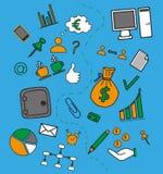 Elementi di gioco da ragazzi di affari Fotografia Stock Libera da Diritti