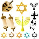 Elementi di giudaismo Fotografia Stock