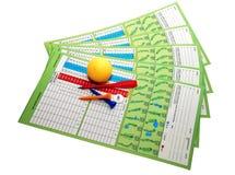 Elementi di golf Fotografia Stock
