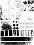 Elementi di Grunge Fotografia Stock Libera da Diritti