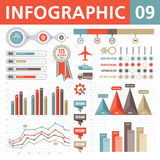 Elementi 09 di Infographic Fotografia Stock Libera da Diritti