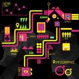 Elementi di Infographic Immagini Stock
