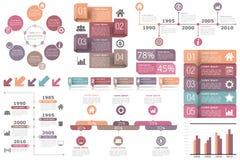 Elementi di Infographic Fotografie Stock
