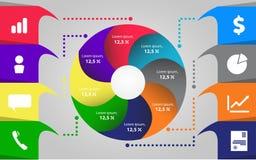 Elementi di Infographic Insieme di vettore degli elementi infographic Illustrazione di vettore illustrazione vettoriale
